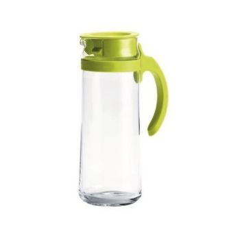 Charmant GLASSWARE PATIO PITCHER GREEN 1 Green